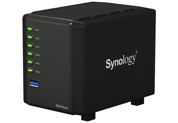 Synology DiskStation DS416slim 製品画像