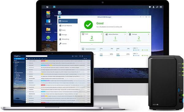 Synology社製NASサーバー向けオペレーティングシステムの最新版「DiskStation Manager (DSM) 6.0」公開のお知らせ