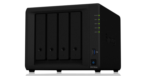 Synology DiskStation DS418play 製品画像