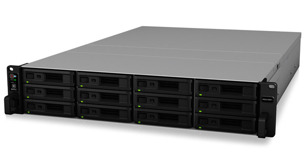 Synology RackStation RS2418+/RS2418RP+ 製品画像