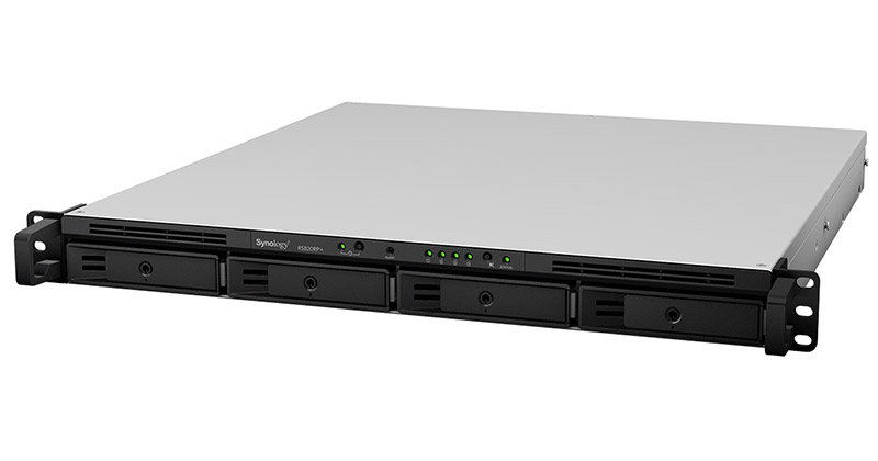 Synology RackStation RS820+、RackStation RS820RP+ 製品画像