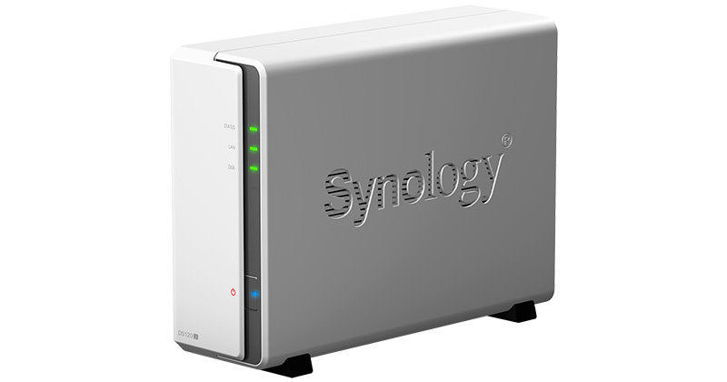 Synology DiskStation DS120j 製品画像