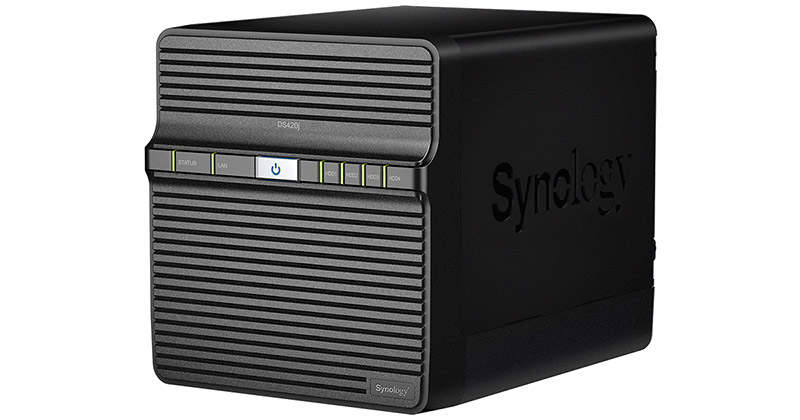 Synology DiskStation DS420j 製品画像
