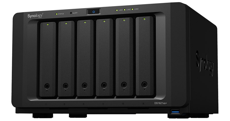 Synology DiskStation DS1621xs+ 製品画像