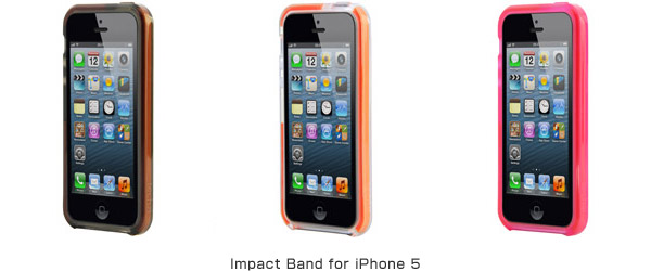 Impact Band for iPhone 5 製品画像