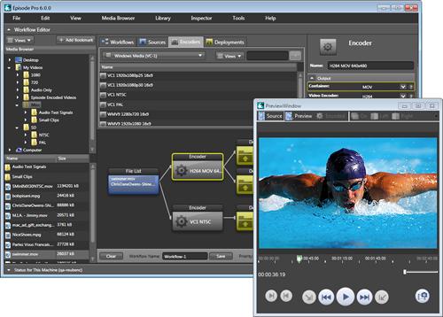 Telestream社、Episode Encorderのx264コーデック対応やAutodeskシステムとの統合を発表