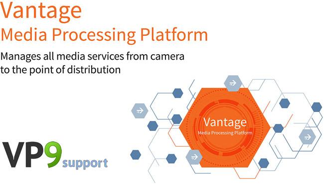 Telestream社、Vantage MultiscreenのVP9エンコーディングとパッケージングを発表