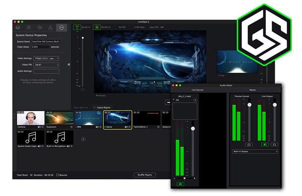 Telestream社、ゲーム配信ソフトウェアGameshowの最新版3.0を発表