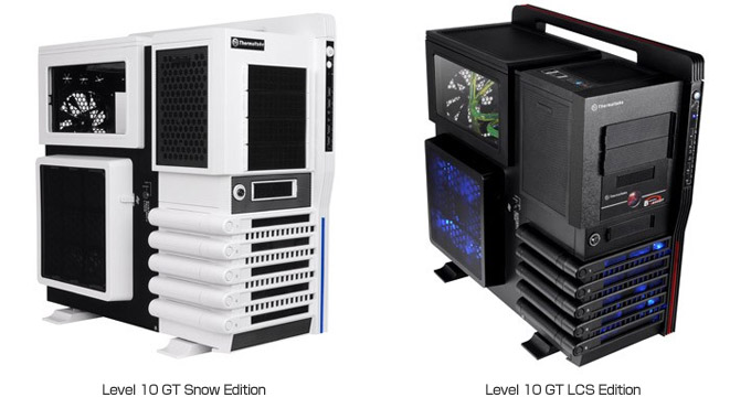 Level 10GT Snow Edition、Level 10GT LCS Edition 製品画像