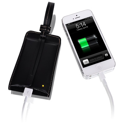 LUXA2 PL1 2800mAh Leather Battery Power Bank 製品画像