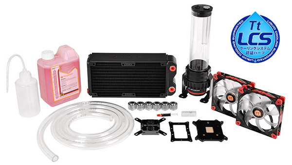 Pacific RL240 Water Cooling Kit 製品画像
