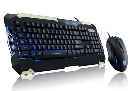 Tt eSPORTS COMMANDER Gaming Gear Combo 製品画像
