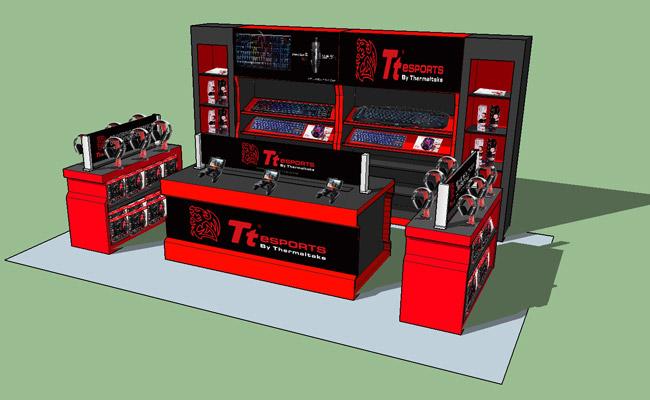 ソフマップ秋葉原4FにThermaltake社のゲーミングデバイスブランド Tt eSPORTSの特設コーナー「Tt Station」をオープン