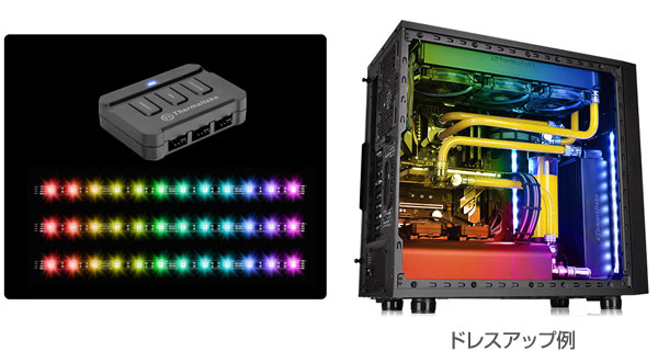 Thermaltake LUMI COLOR LED Strip RGB 製品画像