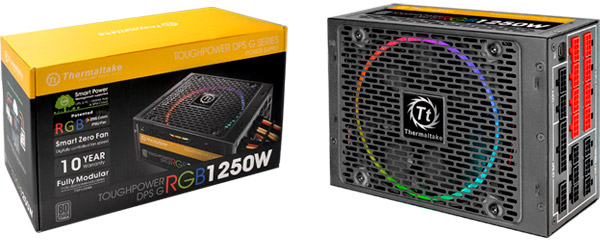 Thermaltake Toughpower DPS G RGB TITANIUM 1250W 製品画像