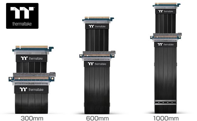 Thermaltake TT Premium PCI Express Extender Cableシリーズ 製品画像