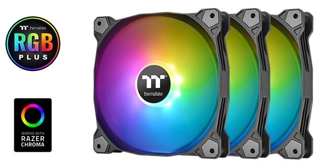 Thermaltake Pure Plus 14 RGB 3Pack 製品画像