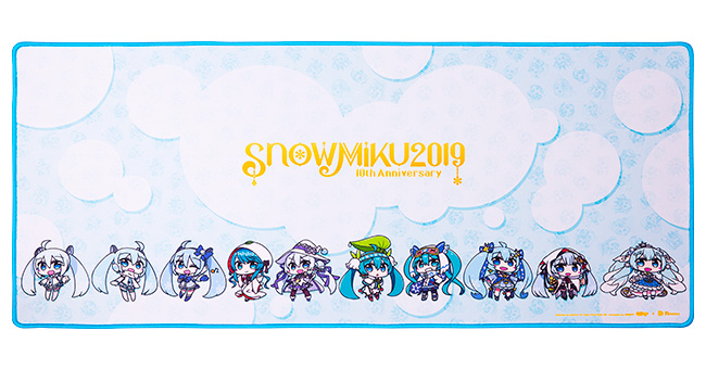Tt eSPORTS DASHER EXTENDED SNOW MIKU EDITION 製品画像