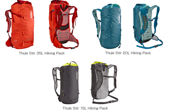 Thule Stir Hiking Pack 製品画像