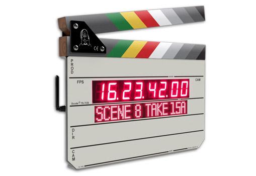 Timecode Systems社、Timecode Buddy組込のクラッパースレート「Denecke TS-TCB」を4月より出荷開始