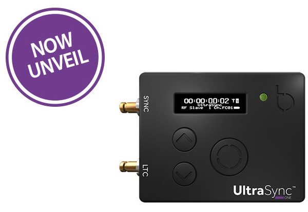 Timecode Systems社、コンパクトなシンク製品「UltraSync ONE」を発表