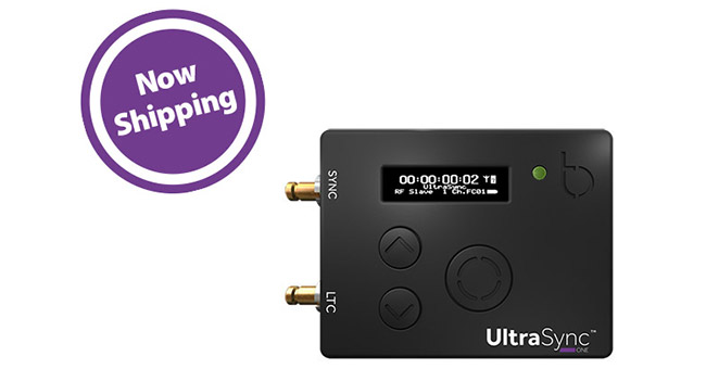 Timecode Systems社、「UltraSync ONE」を発売