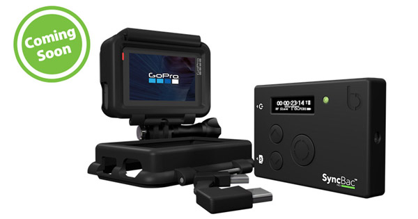 Timecode Systems社、SyncBac PRO for GoPro HERO6の出荷予定を案内