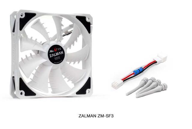 ZALMAN社製 Shark Fin Blade FAN