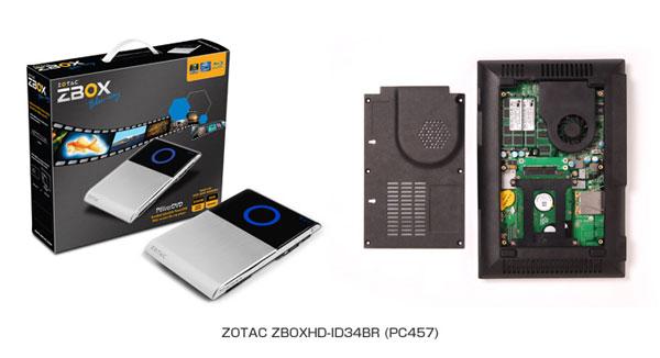ZOTAC社製、インテル® Atom™プロセッサー、NVIDIA ION™チップセット搭載、Blu-rayドライブ内蔵のベアボーンおよびMini-PCの2製品
