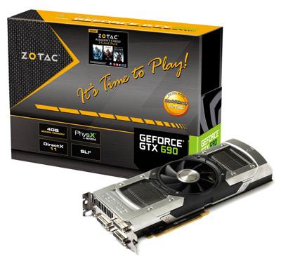 ZOTAC GeForce GTX 690 製品画像