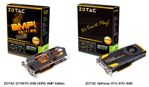ZOTAC GeForce GTX 670 製品画像