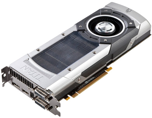 ZOTAC GeForce GTX TITAN 製品画像