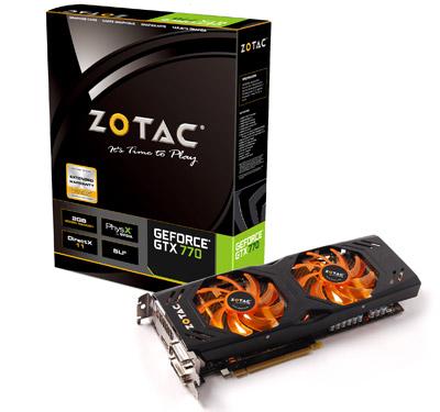 ZOTAC GeForce GTX 770 製品画像