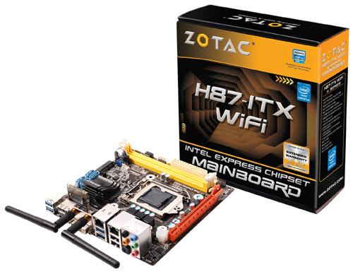 ZOTAC H87-ITX WiFi 製品画像
