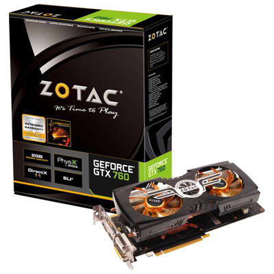 ZOTAC GeForce GTX 760 ZALMAN 製品画像