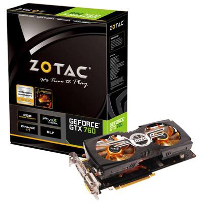 ZOTAC GeForce GTX 760 ZALMAN 製品画像