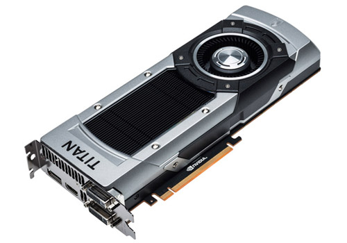 ZOTAC GeForce GTX TITAN BLACK 製品画像