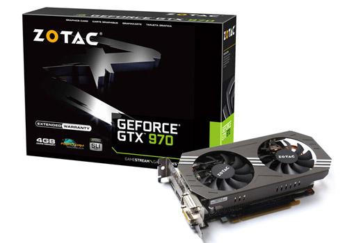 ZOTAC GeForce GTX 970 製品画像