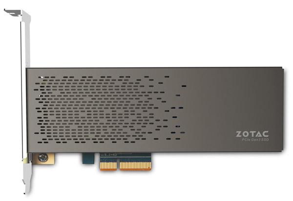 ZOTAC SONIX PCIE 480GB SSD 製品画像
