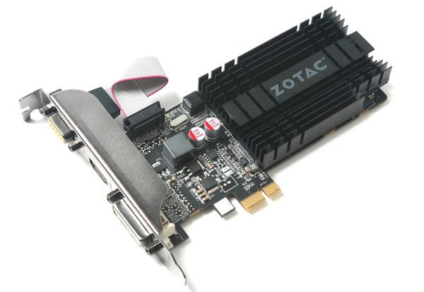 ZOTAC GeForce GT 710 ZONE Edition 1GB DDR3 LP 製品画像