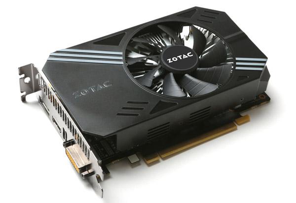 ZOTAC GeForce GTX 950 Single Fan 製品画像
