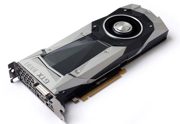 ZOTAC GeForce GTX 1080 Founders Edition 製品画像