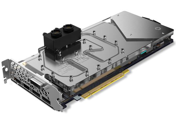 ZOTAC GeForce GTX 1080 ArcticStorm 製品画像