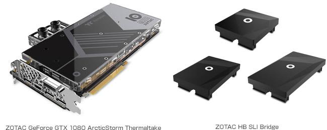 ZOTAC GeForce GTX 1080 ArcticStorm Thermaltake 製品画像