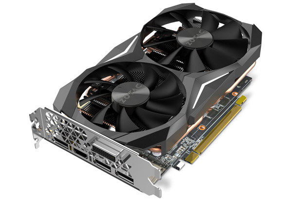 ZOTAC Geforce GTX 1080 Mini 製品画像