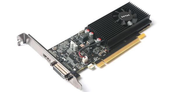 ZOTAC GeForce GT 1030 2GB GDDR5 製品画像