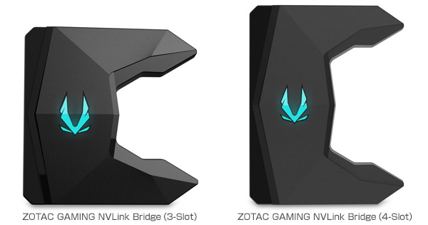 ZOTAC GAMING NVLink Bridge 製品画像