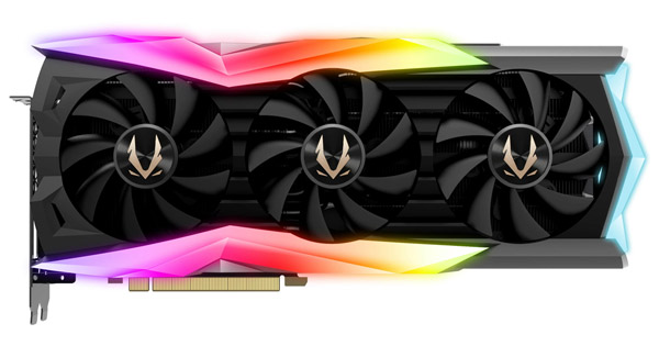 ZOTAC GAMING GeForce RTX 2080 Ti AMP Extreme 製品画像