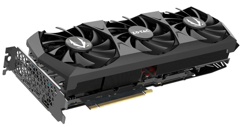 ZOTAC GAMING GeForce RTX 3080 Trinity 製品画像