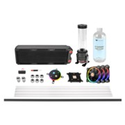Pacific M360 D5 Hard Tube RGB Water Cooling Kit